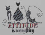 MarNic Designs Cat-Attitude 128w x 100h