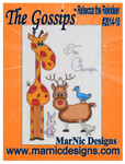MarNic Designs Gossips, The 80w x 131h