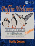 14-1838  Puffin Welcome174w x 105h MarNic Designs