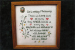 14-1187 In Loving Memory 88 x 88 Poppy Kreations