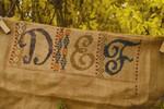 12-1601 SHS-0030 Calico Sampler #2 - DEF 146 x 54 Summer House Stitche Workes