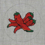 CB-24 Chili Ornament 4 x 4 18 Mesh CHRISTINE SAUNDERS