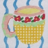"""21b5 Jean Smith Designs Large Cup 8"""" Square 13  mesh"""