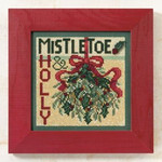 MH149304 Mill Hill Buttons and Bead Kit Mistletoe (2009)