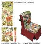 CA05C Complete Set Rainforest 4 canvas Only Trubey Designs