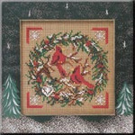 MHCB223 Mill Hill Buttons and Bead KitCardinal Wreath (2004)