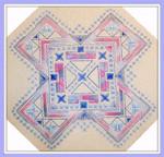 Brodeuse Bressane BB-G Geometric  Stitch Count: 88 x 88