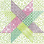 Brodeuse Bressane BB-WS Woven Star