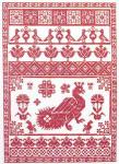 JM-016 Dinky-Dyes DD Designs Shiraz Sampler With Silk Pack