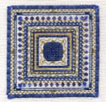 JM-031 Dinky-Dyes DD Designs Sapphire Sampler With Silk Pack