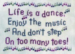 JM-012 Dinky-Dyes DD Designs Life Is A Dance With Silk Pack