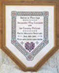 JM-008 DD Designs Celtic Wedding Sampler With Silk Pack