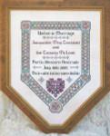JM-008 Dinky-Dyes DD Designs Celtic Wedding Sampler With Silk Pack