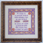 JM-007 DD Designs Celtic Sister Sampler With Silk Pack