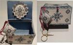MTV-LSB MTV Designs Luxury Sewing Box With Silk Pack