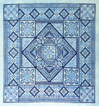 Northern Expressions NE026  Shades of Blue  Stitch Count: 249 x 249 With Silk Pack