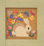 MHCB124 Mill Hill Buttons and Bead Kit Blooming Bunny (1999)
