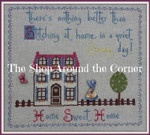 SAC-HSH The Shop Around The Corner Home Sweet Home  Stitch Count: 160 x 180