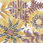 """MS044 Machelle Somerville Wild Flowers 14g, 16"""" x 16"""""""