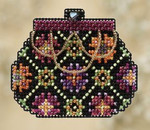 MH180104 Mill Hill Seasonal Ornament Kit Coin Purse (2010)