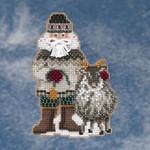 MH209301 Mill Hill Santa Ornament Kit Greenland Santa (2009)