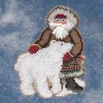 MH209303 Mill Hill Santa Ornament Kit Nunavut Santa (2009)