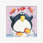 HCK1240 Heritage Crafts Kit Penguin  Christmas Cards by Karen Carter