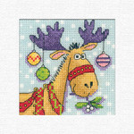 HCK1243 Heritage Crafts Kit Reindeer Christmas Cards by Karen Carter;