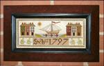 Carriage House Samplings 1797 Ship Sampler