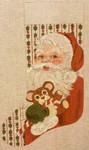 1009 Santa Stocking 12 x 21 13 Mesh Treglown Designs