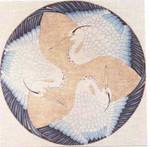 """1168 Blue Heron Round 18 Mesh 14"""" Rnd Treglown Designs"""