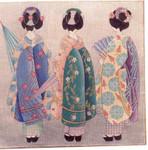 1240 Kimono's 18 Mesh 16 x 16 Treglown Designs