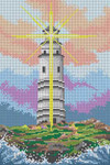 3318 Light House 12 Mesh 71⁄4 x 11 Treglown Designs