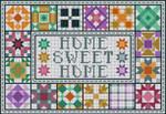 B-155 Home Sweet Home 12 Mesh 13 x 9 Treglown Designs