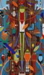 Charley Harper Monteverde HC-M225  18 Mesh 171⁄2 x 291⁄2 Treglown Designs