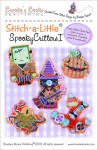 Brooke's Books Publishing Stitch-a-Little Spooky Critters I Chart Pack