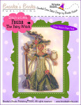 Brooke's Books Publishing Stitch-a-Little Fauna The Fairy Witch Chart Pack