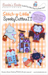 Brooke's Books Publishing Stitch-a-Little Spooky Critters II Chart Pack