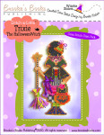 Brooke's Books Publishing Stitch-a-Little Trixie The Halloween Witch