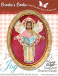 Brooke's Books Publishing Spirit Of Joy Angel CCS Ornament +chartpack