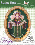 Brooke's Books Publishing Spirit Of Hope Angel CCS Ornament +chartpack