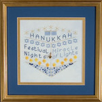 DebBee's Designs Holiday Highlights Hanukkah  Counted Canvas Pattern