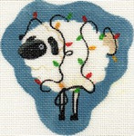 ab27 A. Bradley little sheep with lights 3 x 4 18 Mesh