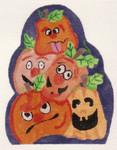 ab34 A. Bradley the pumpkin heads 6 x 5  18 Mesh