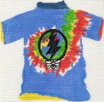 ab43 A. Bradley dead head t-shirt 4 x 5 18 Mesh