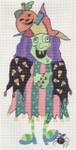 ab58 A. Bradley linda the witch 16 x 9 13 Mesh