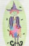 ab59 A. Bradley patches the witch 11 x 6  18  Mesh