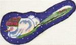 ab126  A. Bradley snowspoon 4 x 3 18 Mesh