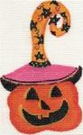 ab140 A. Bradley pumpkin 1 3 x 4  18 Mesh