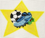 ab159 A. Bradley soccer shoe super star 4 x 4 18 Mesh
